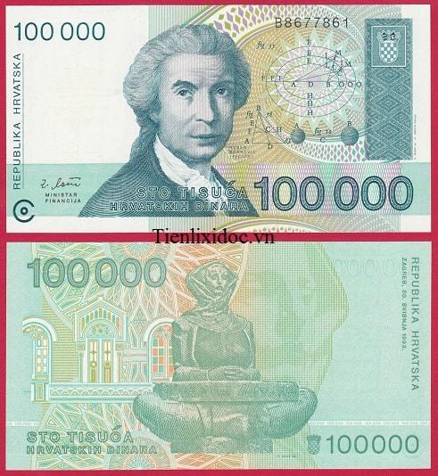 Croatia 100.000 Kuna