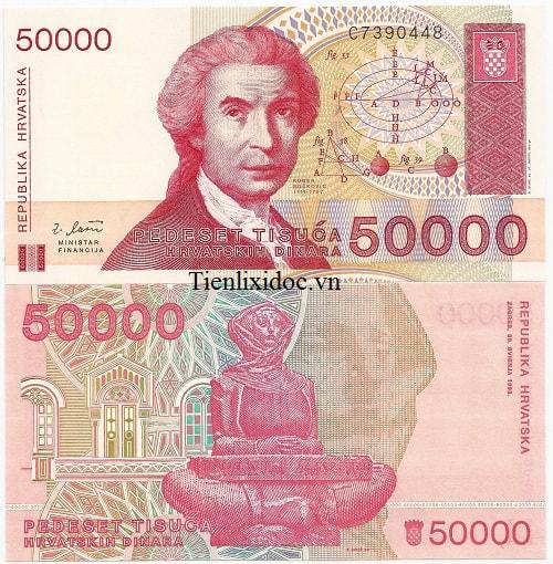 Croatia 50.000 Kuna
