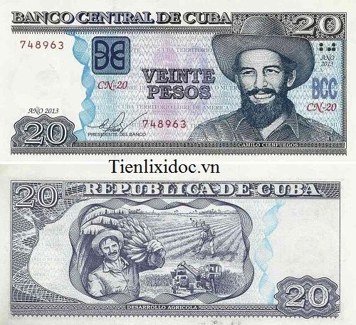 Cuba 20 pesos 2014
