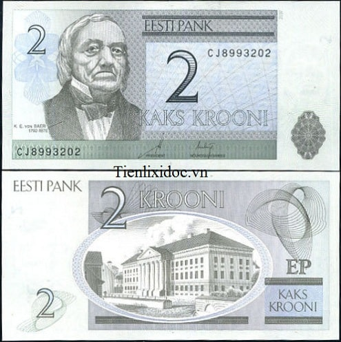 Estonia 2 Kroon