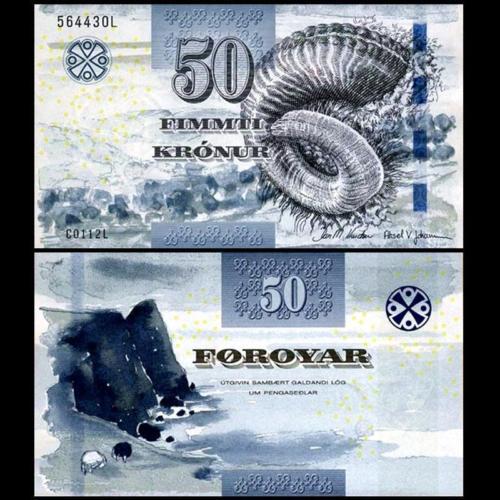 Faeroe Islands 50 kronur 2011