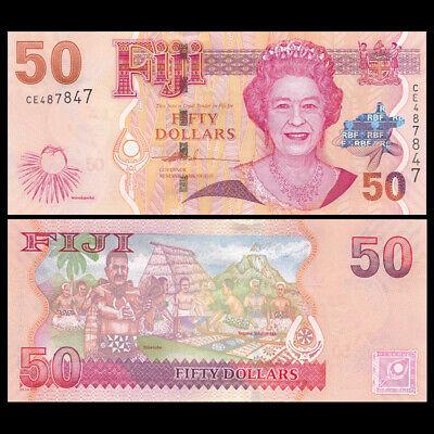 Fiji 50 dollars 2007