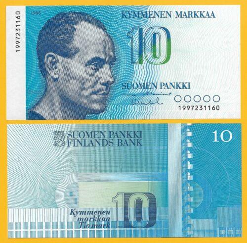 Finland 10 markka 1986