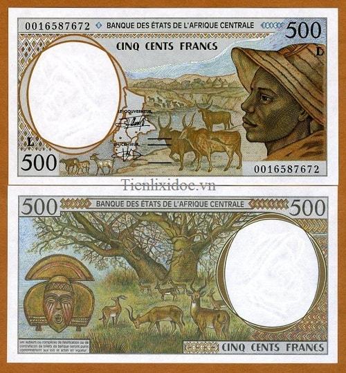Gabon 200 francs