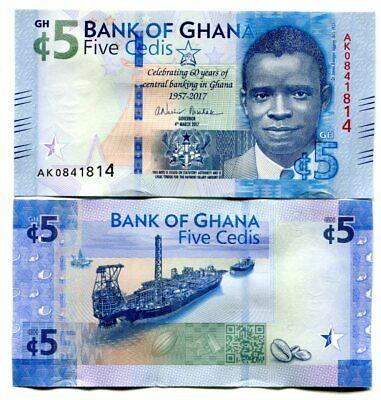 Ghana 5 cedis 2017