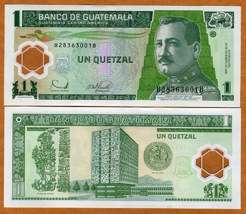 Guatamala 1 quetzales