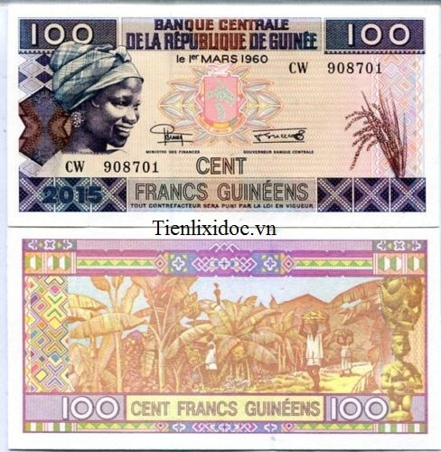 Guinea 100 Franc