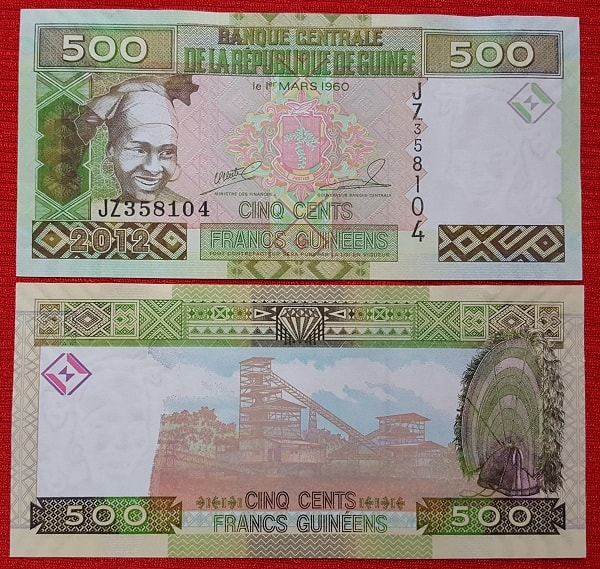 Guinea 500 sylis