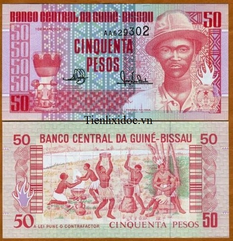 Guinea Bissau 50 Franc