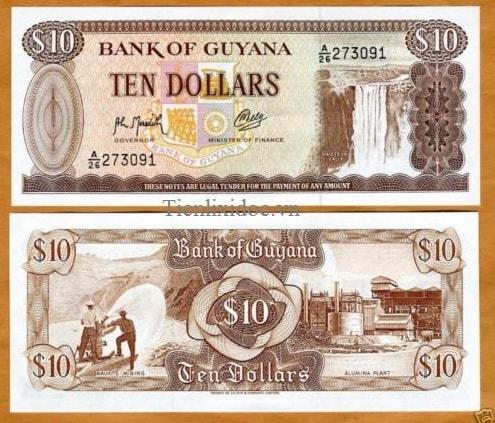 Guyana 10 dollars