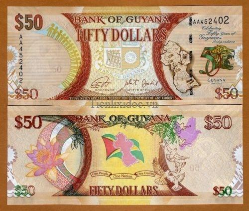 Guyana 50 dollars