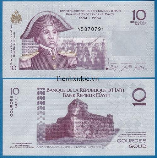 Haiti 10 gorde
