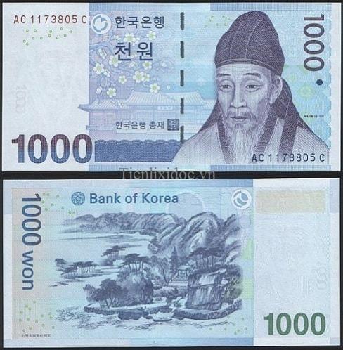 Hàn Quốc 1000 Won