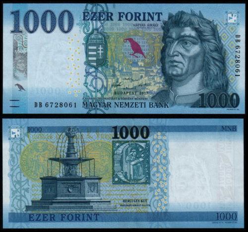 Hungary 1000 forint 2017
