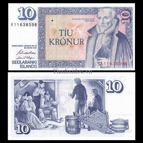Iceland 10 kronur