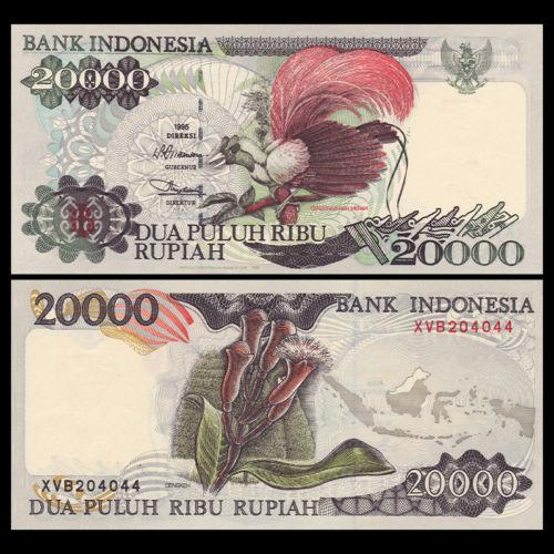 Indonesia 20.000 rupiah 1995