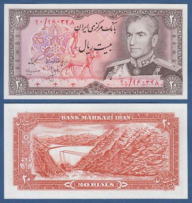 Iran 20 rials 1974
