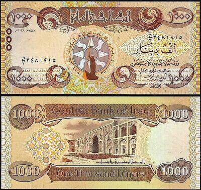 Iraq 1000 dinar 2018