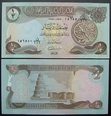 Iraq 1/2 dinar 1985