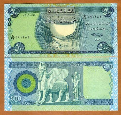 Iraq 500 dinars 2018