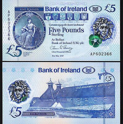 Ireland 5 pounds 2017 polymer