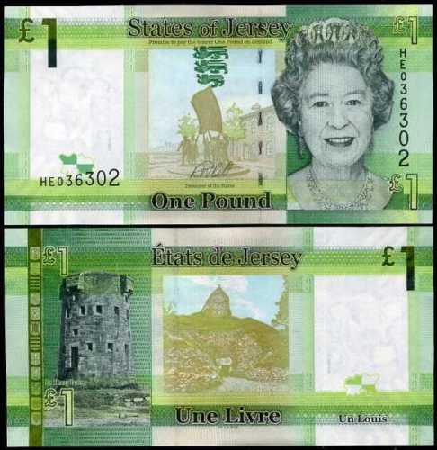 Jersey 1 pound 2018