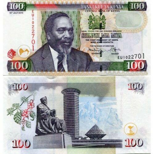 Kenya 100 shillings 2010