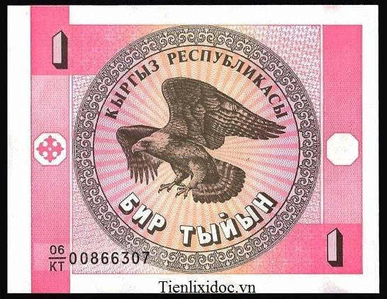 Kygyzstan 1 Som