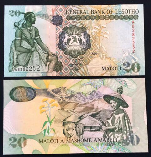 Lesotho 20 maloti 2007