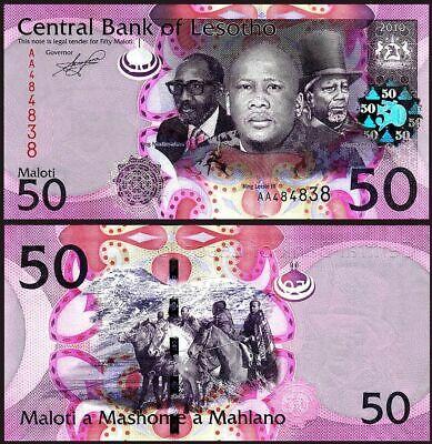 Lesotho 50 maloti 2010