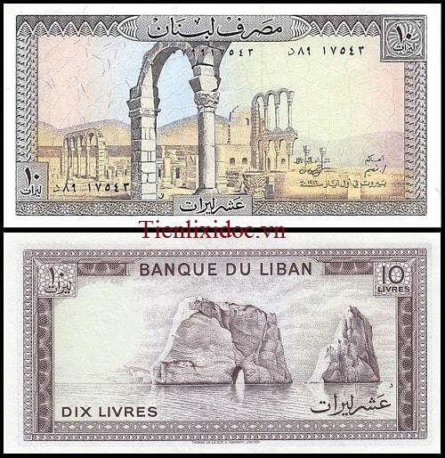 Liban 10 Livres