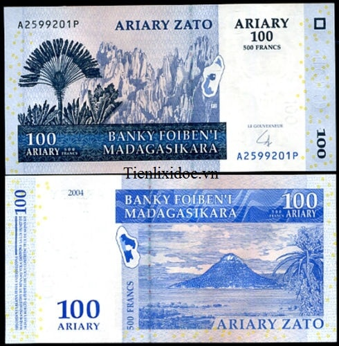 Madagascar 100 Ariary