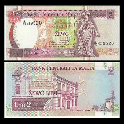Malta 2 liri 1967