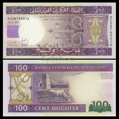Mauritanie 100 cent ouguiya