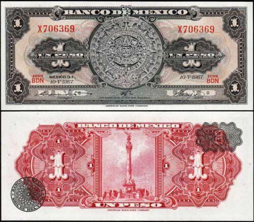 Mexico 1 pesos 1967