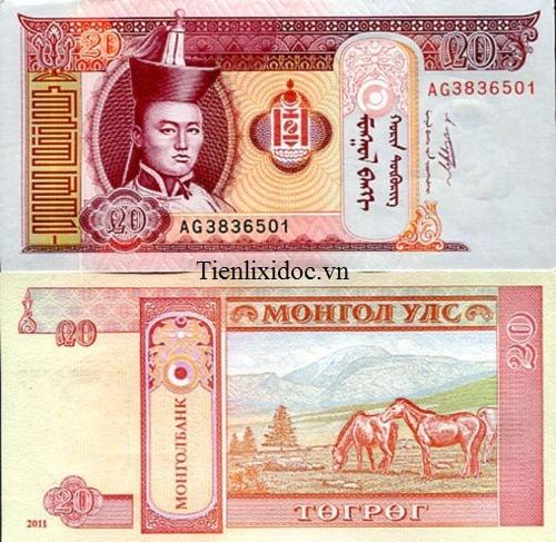 Mông Cổ 20 Tugrik
