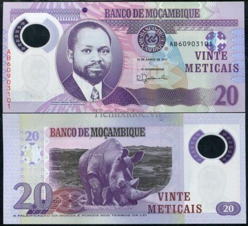 Mozambique 20 meticai polime