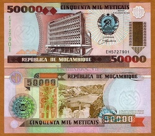 Mozambique 50.000 meticai