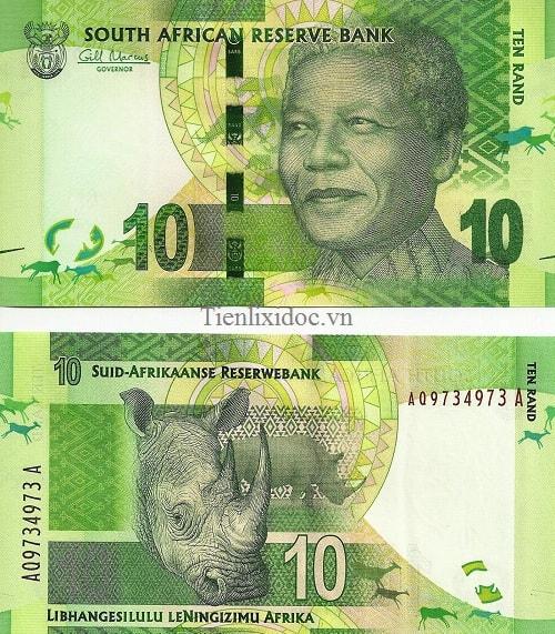 Nam Phi 10 rand