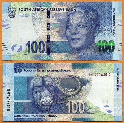 Nam Phi 100 rand 2016