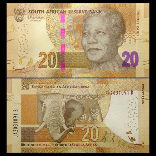 Nam Phi 20 rand 2015