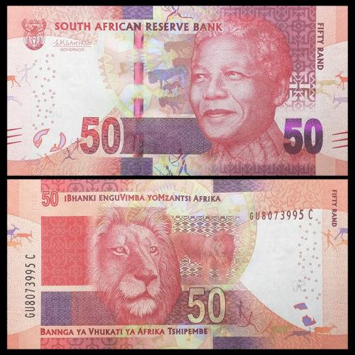 Nam Phi 50 rand 2015