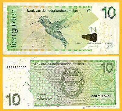 Nederlandse Antillen 10 gulden 2016