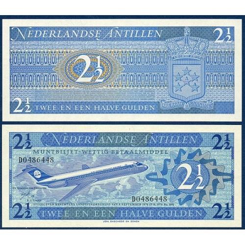 Nederlandse Antillen 2 1/2 gulden 1970