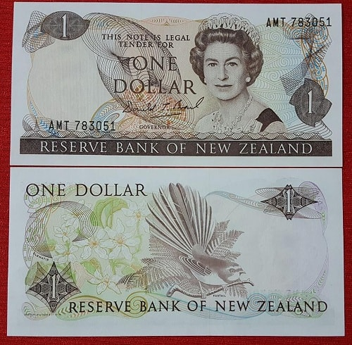 New zealand 1 dollar