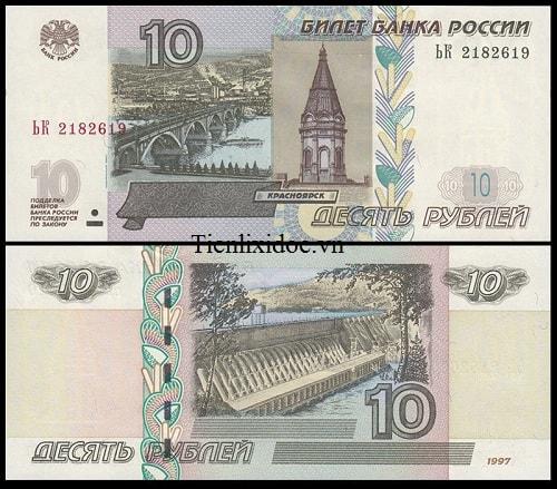 Nga 10 Rúp