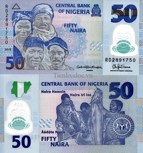 Nigeria 50 naira - polime