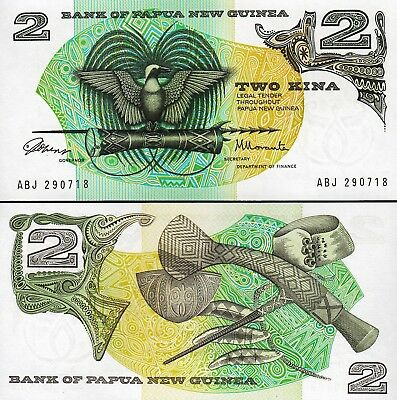 Papua New Guinea 2 kina 1975