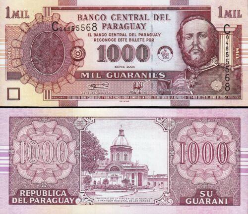 Paraguay 1000 Guaranies 2004