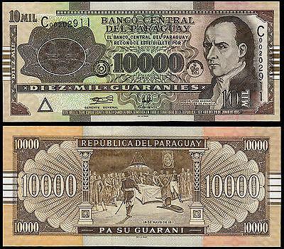 Paraguay 10.000 Guaranies 2004